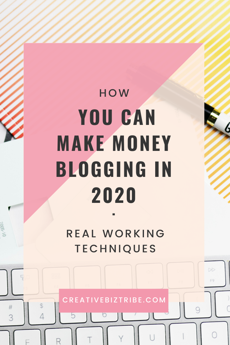 how you can make money blogging