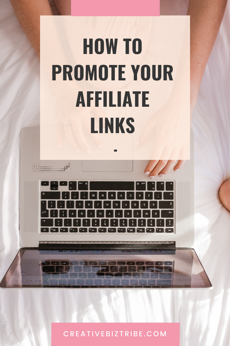 how to promote your affiliate links