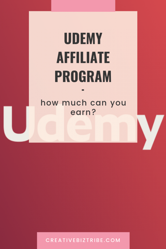 Udemy Affiliate Program-How Much Can You Earn
