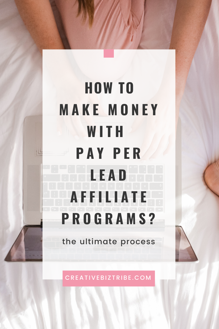 how to make money with pay per lead affiliate programs
