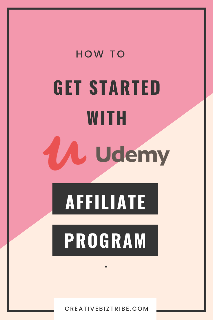 udemy affiliate program - how to get started