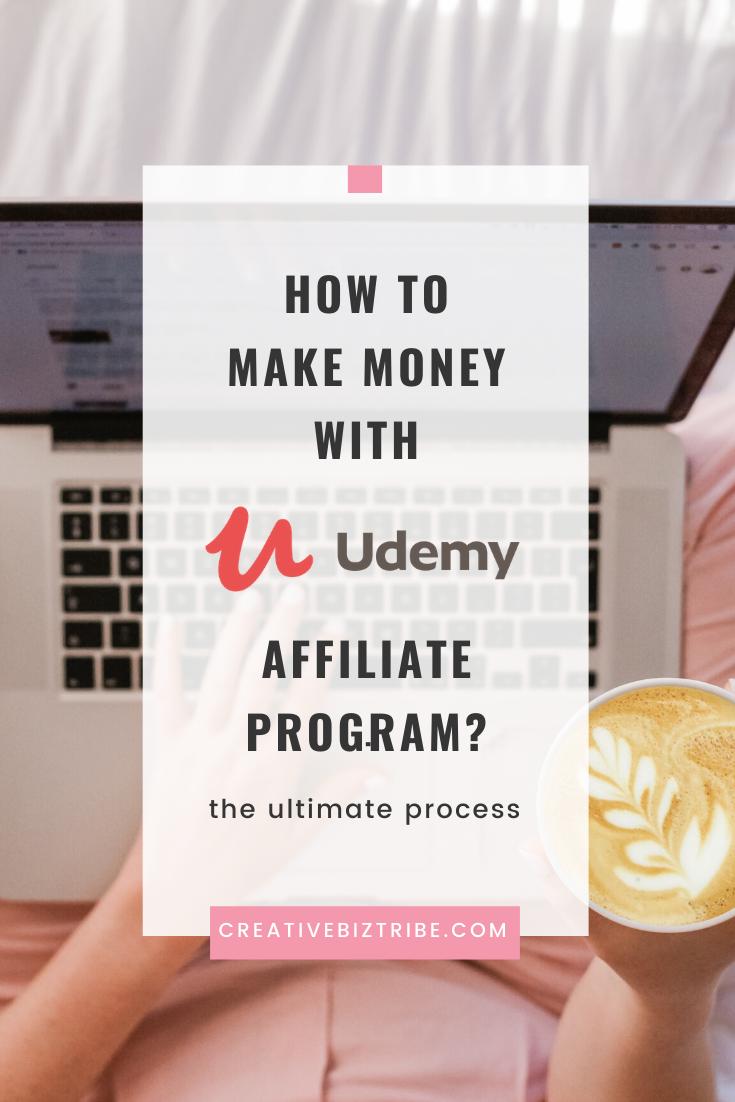 udemy affiliate program - make money