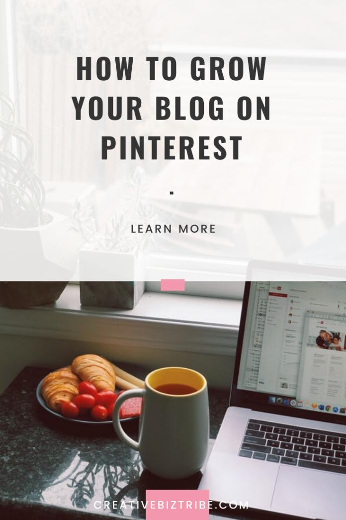 grow blog on pinterest