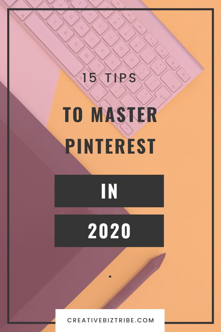 tips to master pinterest