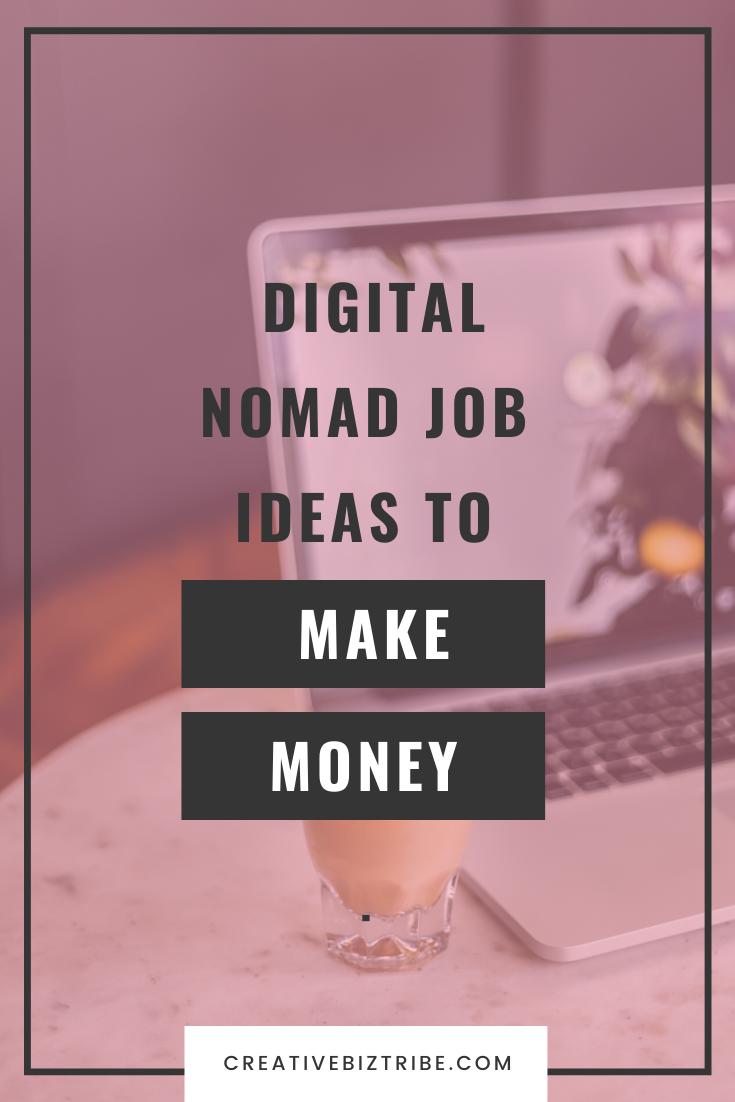 Ideas for digital nomad job