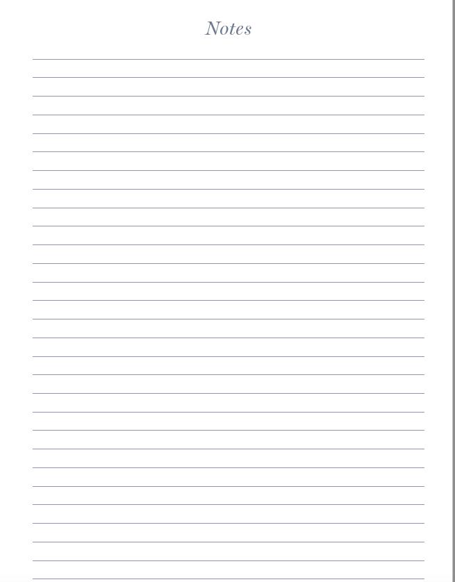 Journal Notes page creativebiztribe.com #journals #womensjournal #jouurnaling