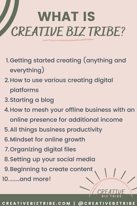 Wake Up You Need to Make Money creativebiztribe.com #makemoney #onlinebusiness #create list