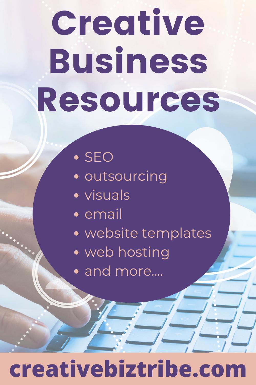 Creative Business Resources creativebiztribe.com #businessresources #buildabusiness #mompreneur