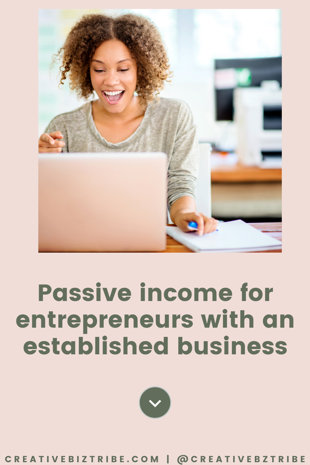 Passive Income creativebiztribe.com #makemoney #onlinebusiness Creative Business Tribe {What is this? Do I belong?} #create